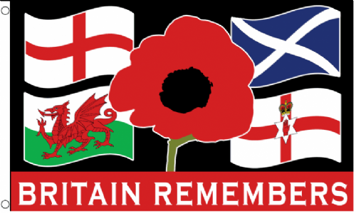Flag - Britain Remembers 5ft x 3ft